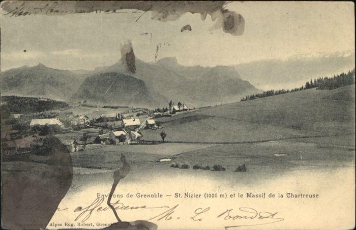 Saint-Nizier-du-Moucherotte Saint-Nizier-du-Moucherotte Massif Chartreuse * / Saint-Nizier-du-Moucherotte /Arrond. de Grenoble