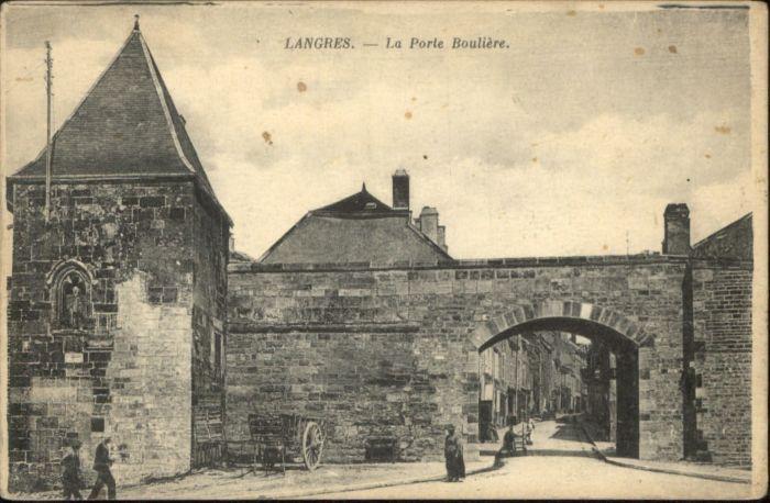 Langres Langres Porte Bouliere * / Langres /Arrond. de Langres