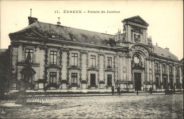 Evreux Evreux Palais Justice Justizpalast * / Evreux /Arrond. d Evreux