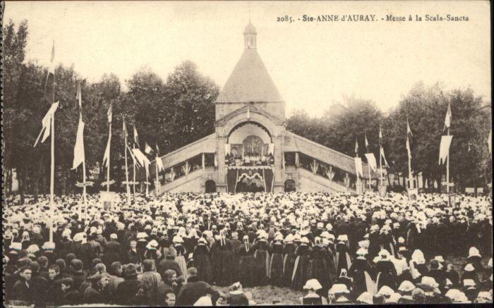 Sainte-Anne-d Auray Sainte-Anne-d'Auray Messe Scala-Sancta * / Sainte-Anne-d Auray /Arrond. de Lorient