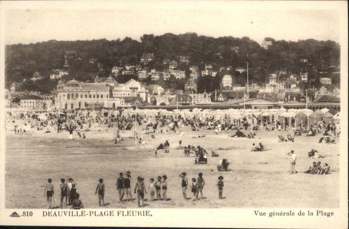 Deauville Deauville Strand * / Deauville /Arrond. de Lisieux