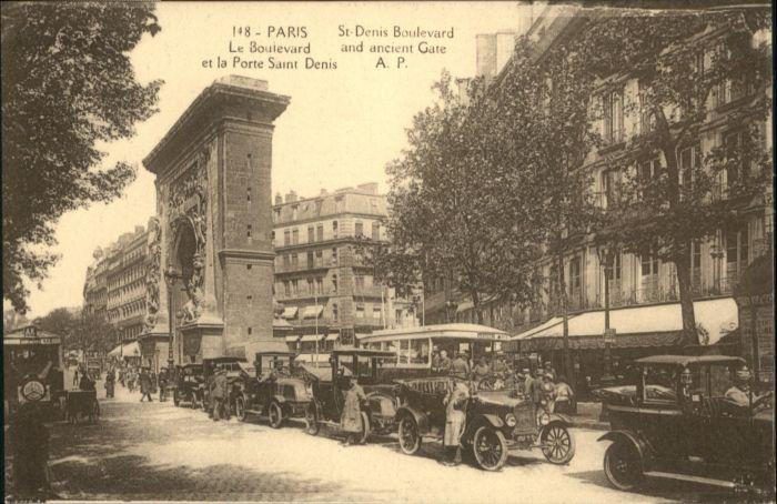 Paris Paris Porte Saint Denis * / Paris /Arrond. de Paris