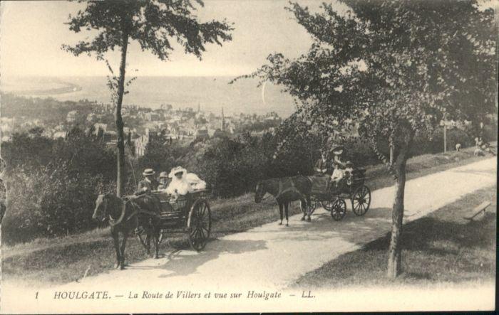 Houlgate Houlgate Kutsche * / Houlgate /Arrond. de Lisieux