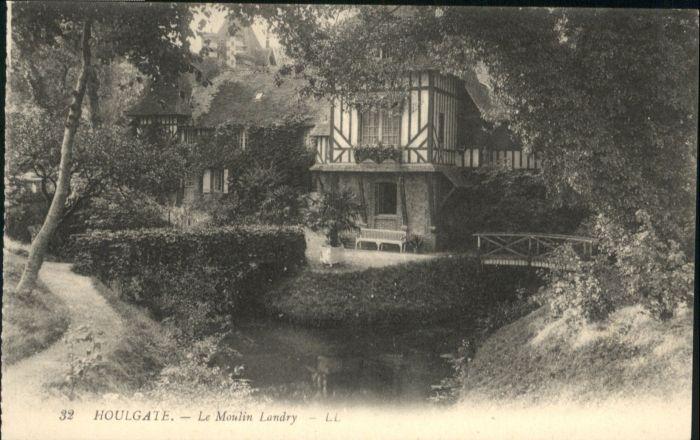 Houlgate Houlgate Bruecke Le Moulin Landry * / Houlgate /Arrond. de Lisieux