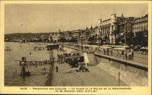 Nice Alpes Maritimes Nice Promenade Anglais * / Nice /Arrond. de Nice