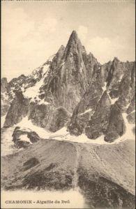 Chamonix Chamonix-Mont-Blanc Aiguille du Dru * / Chamonix-Mont-Blanc /Arrond. de Bonneville