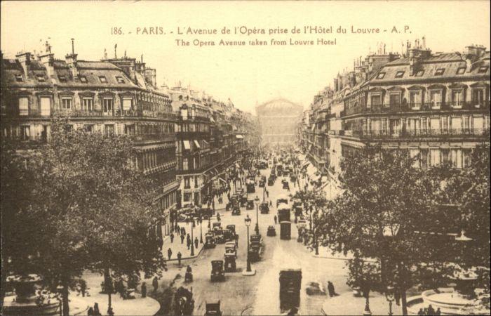 Paris Paris l'Avenue de l'Opera * / Paris /Arrond. de Paris
