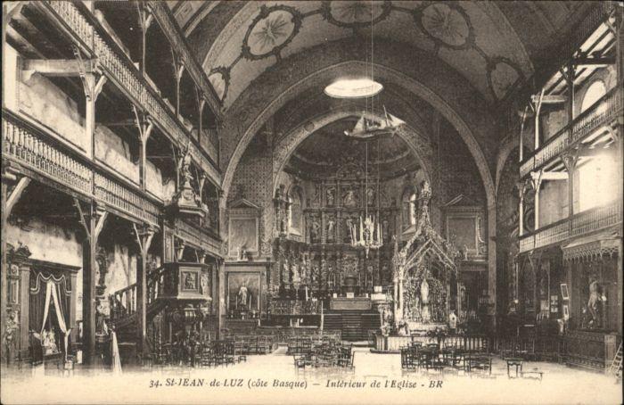 Saint-Jean-de-Luz Saint-Jean-de-Luz Kirche * / Saint-Jean-de-Luz /Arrond. de Bayonne