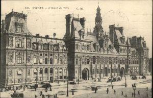Paris Paris L'Hotel de Ville x / Paris /Arrond. de Paris