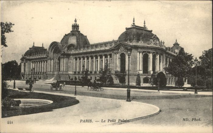 Paris Paris Le Petit Palais x / Paris /Arrond. de Paris