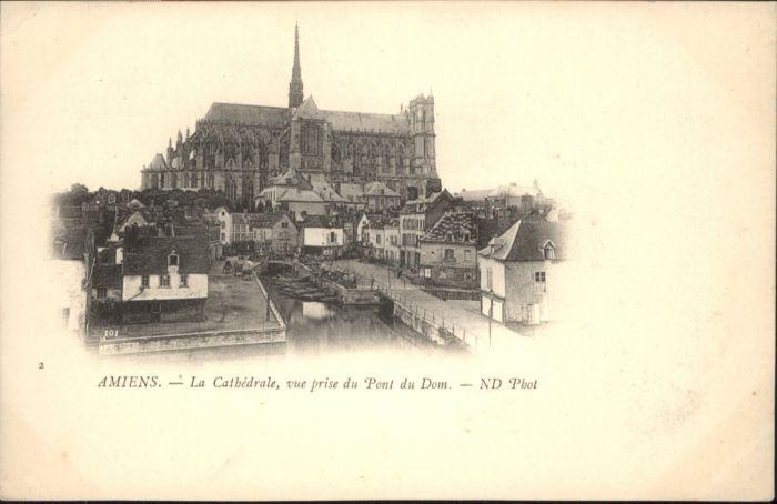 Amiens Amiens La Cathedrale * / Amiens /Arrond. d Amiens