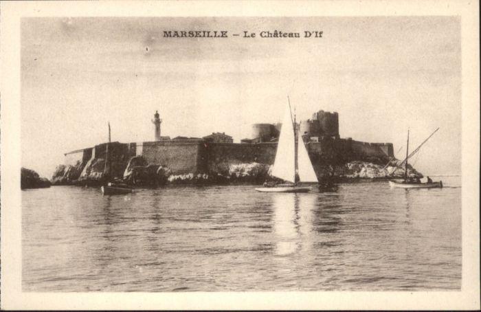 Marseille Marseille  Le Chateau d'If * / Marseille /Arrond. de Marseille