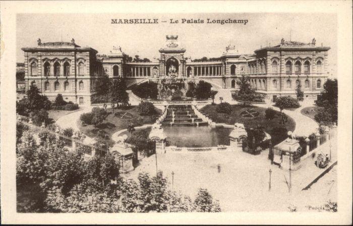 Marseille Marseille  Le Palais Longchamp * / Marseille /Arrond. de Marseille