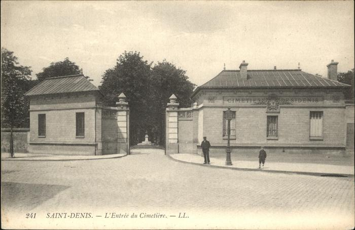 Saint-Denis Seine-Saint-Denis Entree Cimetriere Kat. Saint-Denis