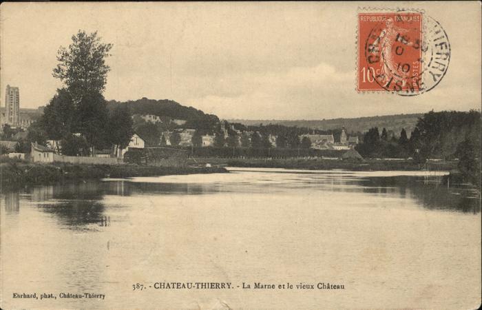 Chateau-Thierry Marne Vieux Chateau Kat. Chateau-Thierry