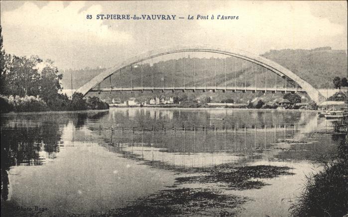 Saint-Pierre-du-Vauvray Pont a L Aurore Kat. Saint-Pierre-du-Vauvray