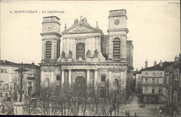 Montauban Cathedrale Kat. Montauban