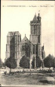 hw06803 Dol-de-Bretagne Cathedrale de Dol Kategorie. Dol-de-Bretagne Alte Ansichtskarten