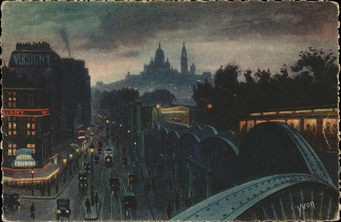 hw07007 Paris Les Feeries Nocturnes de Paris Kategorie. Paris Alte Ansichtskarten