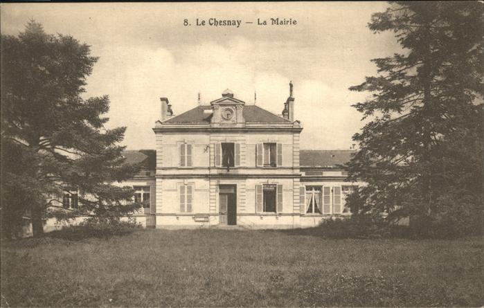 Le Chesnay la Mairie Kat. Le Chesnay