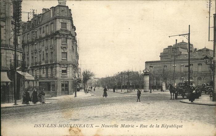 Issy-les-Moulineaux Nouvelles Mairie Kat. Issy-les-Moulineaux