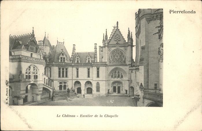 Pierrefonds Oise Chateau Chapelle Kat. Pierrefonds