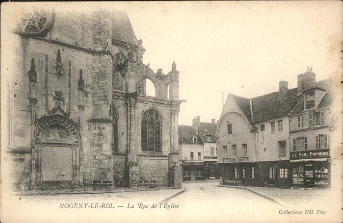 Nogent-le-Roi Rue Eglise Kat. Nogent-le-Roi