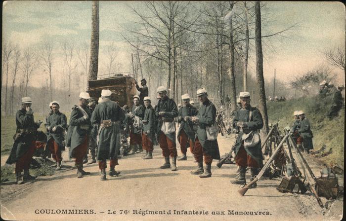 Coulommiers Regiment Infanterie  Kat. Coulommiers