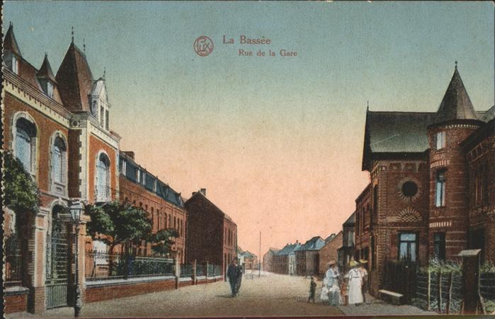 La Bassee Rue de la Gare Kat. La Bassee