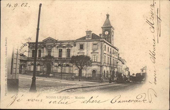 Noisy-le-Sec Mairie Kat. Noisy-le-Sec