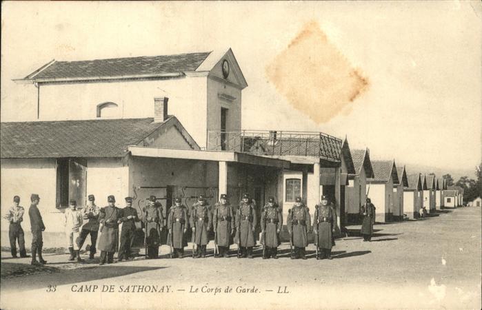 Sathonay-Camp Camp Corps de Garde Kat. Sathonay-Camp