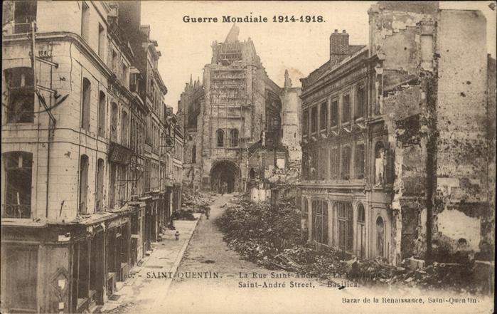 Saint-Quentin Rue Saint Andre Kat. Saint-Quentin