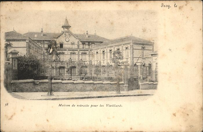 Issy-les-Moulineaux Vieillards