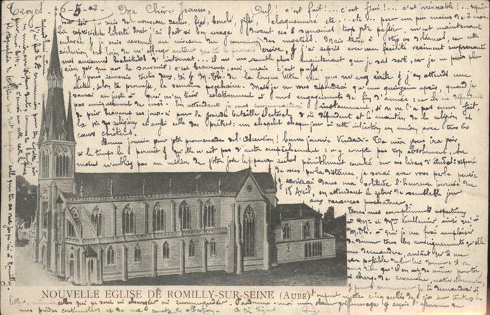 Romilly-sur-Seine Eglise Kat. Romilly-sur-Seine