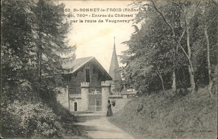 Ak saint bonnet de mure le ch teau nr 6393356 oldthing - Office de tourisme saint bonnet le chateau ...