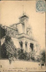 Saint-Cloud Hauts-de-Seine Maison de l Obus Kat. Saint-Cloud