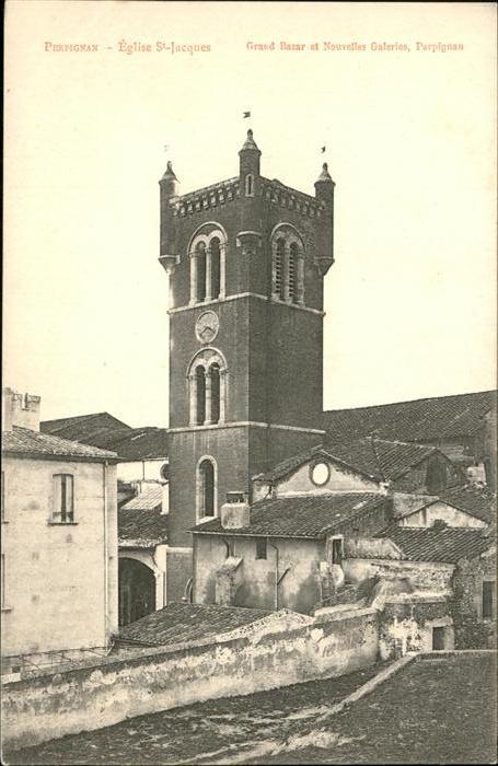 Perpignan Eglise St. Jaques Kat. Perpignan