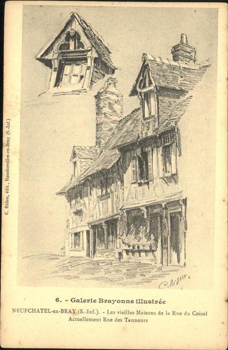 Neufchatel-en-Bray rue du Coisel Kat. Neufchatel-en-Bray
