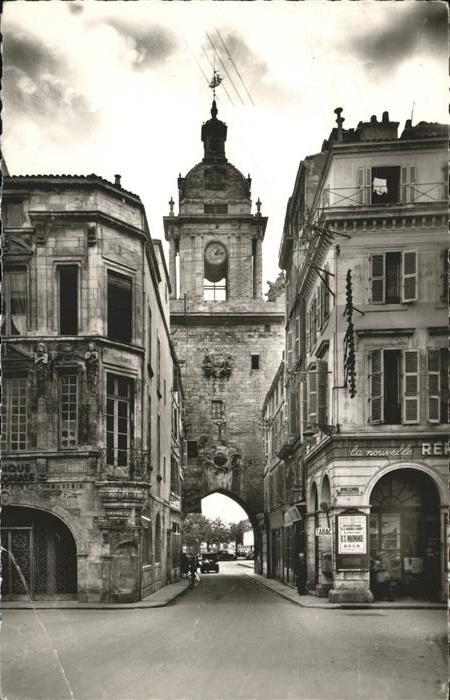 La Rochelle Charente-Maritime Grosse Horloge Kat. La Rochelle