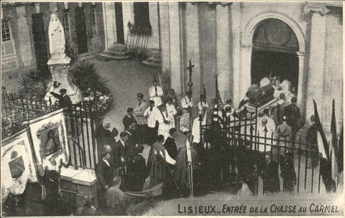 Lisieux Chasse au Carmel Kat. Lisieux