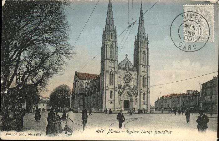 Nimes Eglise Saint Baudille Kat. Nimes