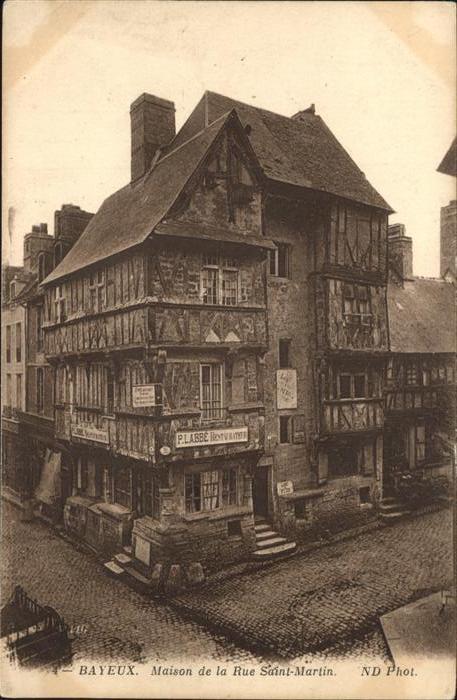 Bayeux Rue Saint Martin Kat. Bayeux