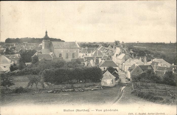 Ballon Sarthe  / Pays de la Loire /Arrond. du Mans