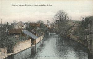 La Chartre-sur-le-Loir Pont Bois Kat. La Chartre-sur-le-Loir
