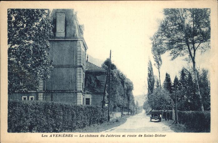 Les Avenieres Chateau Jalerieu Saint Didier Kat. Les Avenieres