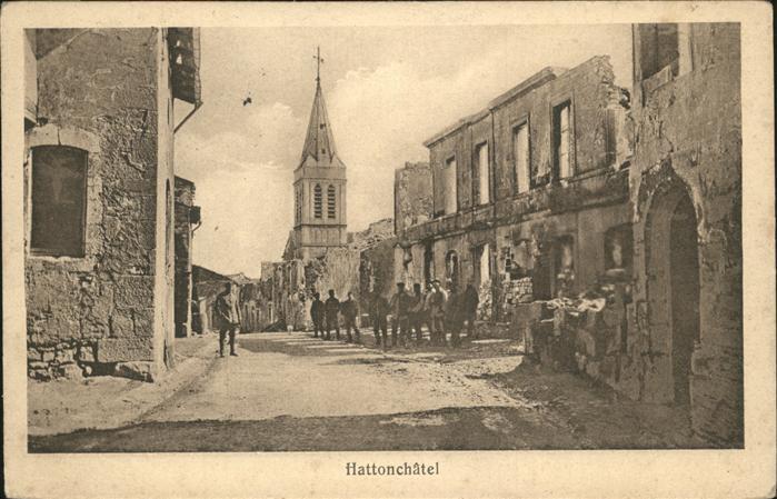 Hattonchatel  Kat. Vigneulles-les-Hattonchatel