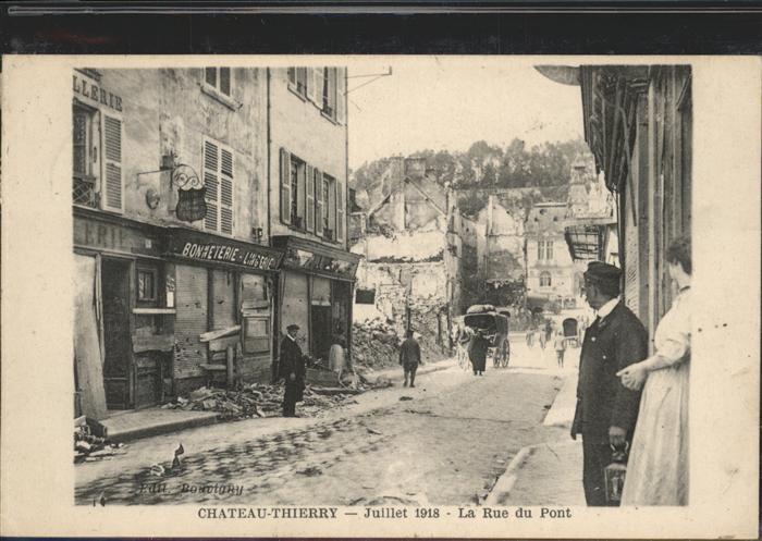 Chateau-Thierry Rue du Pont Kat. Chateau-Thierry
