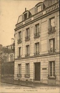 Paris Villa Saint-Andre rue Ballu Kat. Paris