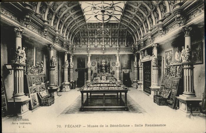 Fecamp Musee de la Benedictine Salle Renaissance Kat. Fecamp