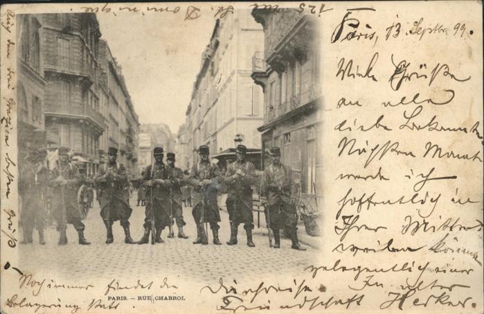 Paris Rue Chabrol Kat. Paris